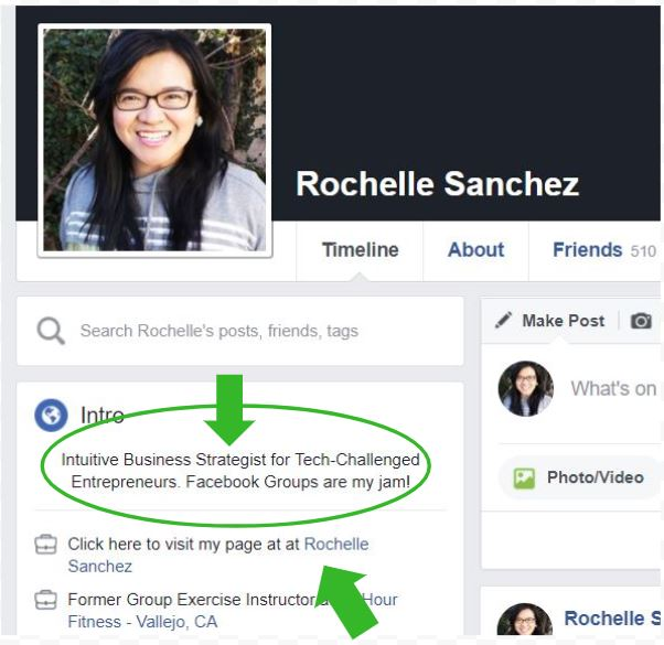 Facebook Groups Profile Business Page