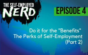 Episode 4 - Do it for the benefits. The perks of self-employment, part 2