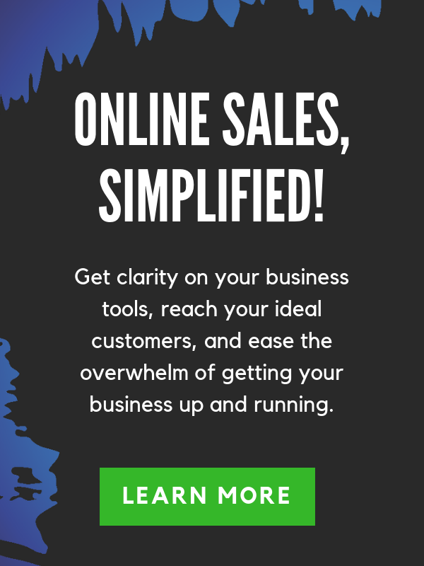 online sales, simplified